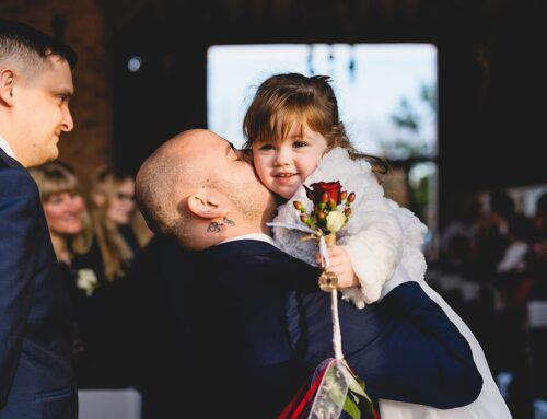 Festive family wedding