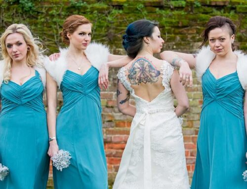Just tattoo of us – a unique winter wedding